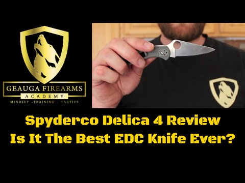Spyderco Delica 4 Review | Best EDC knife Ever?