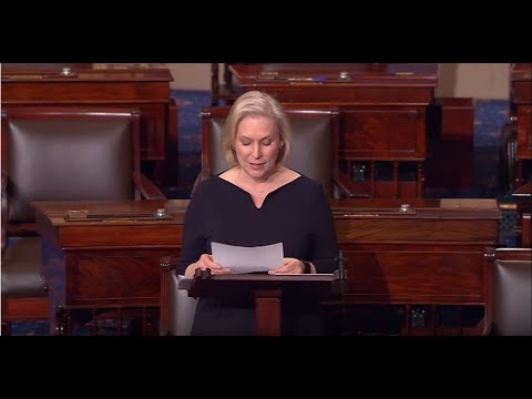 Sen. Gillibrand Floor Speech opposing Betsy DeVos for Secretary of Education 2/3/17