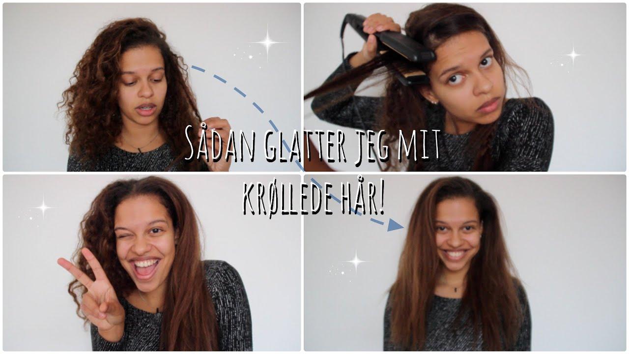 hvordan glatter man hår