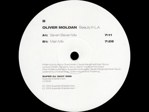 Oliver Moldan ‎– Beauty In L.A. (Main Mix)