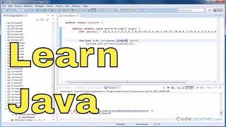 java Tutorial - 05 - Using Array Length Instance Variable