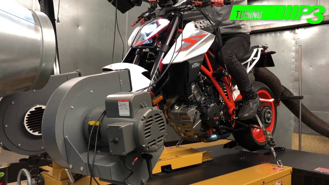 KTM 1290 Super Duke R Full Custom ECU mapping at P3 tuning