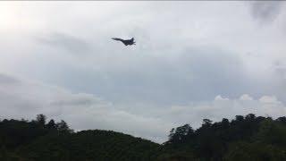 Su35 gầm rú bay trên bầu trời Đắk Nông