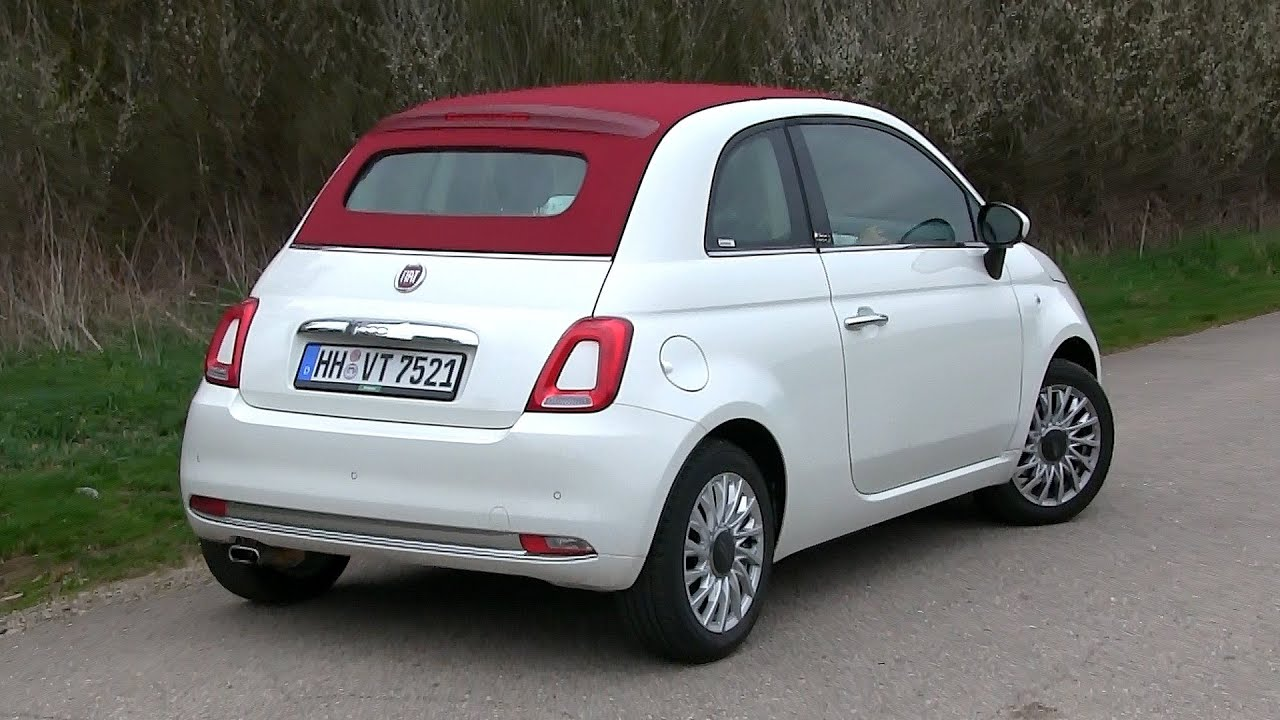 2016 fiat 500 c 1 2 8v 69 hp test drive by test drive. Black Bedroom Furniture Sets. Home Design Ideas