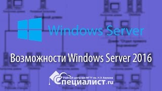 Новые возможности Windows Server 2016