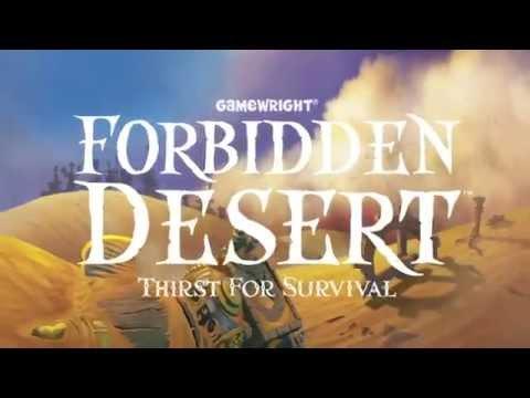 Forbidden Desert. The Teaser Trailer.