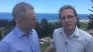 <p>While on Norfolk Island, I spoke to heritage consultant Matt Alexander about the island's unique heritage. https://youtu.be/PbaP8pC9nNI</p>