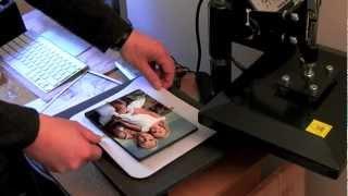 Sublimation ChromaLuxe panel printing training video