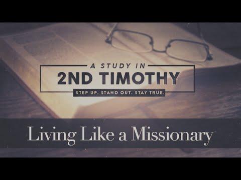 Living Like a Missionary