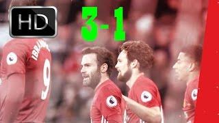 Manchester United Vs Sunderland 3-1 All Goals - |HD