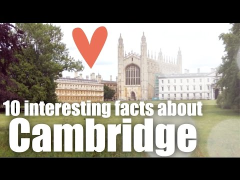 10 interesting facts about Cambridge - aprende inglés online