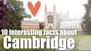 10 interesting facts about Cambridge - aprende inglés online