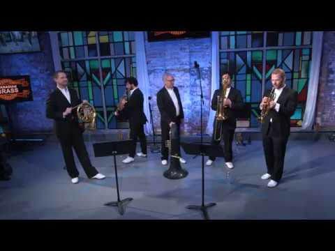 Canadian Brass performs LIVE at Zoomer Hall