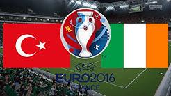 TÜRKEI gegen IRLAND - EM 2016 FRANKREICH (Gruppenphase 2.Spieltag) ◄TÜR #03►