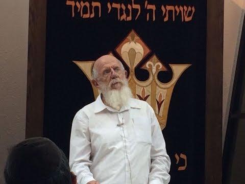 Sichat Selichot Motzei Shabbat Rosh Yeshiva HaRav Medan Elul 5777
