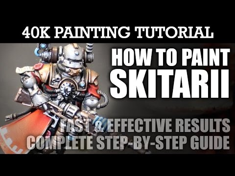 How To Paint SKITARII Painting Tutorial (Use this technique for ALL units/vehicles) | HD
