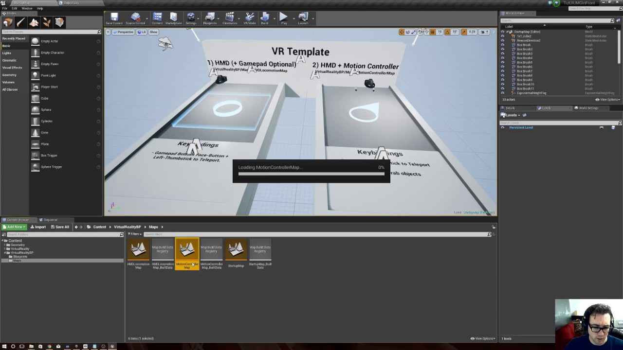 Unreal Engine Tutorial - VR UMG Widget UI Infront of Everything Depth Render