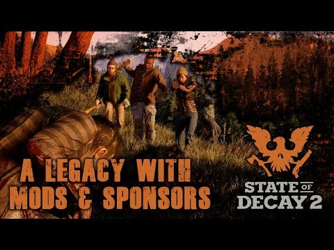 ZOMBIE SLAYING WITH MODS & SPONSORS.. LETS LEAVE OUR LEGACY