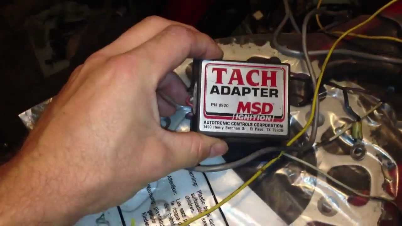 maxresdefault stock datsun tachometer with rb swap youtube msd tach adapter 8920 wiring diagram at readyjetset.co