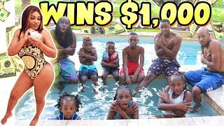 Last to Leave the Swimming Pool Wins $1,000