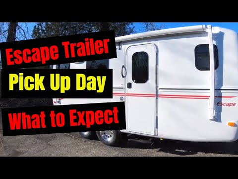 Take a Tour of Our Escape 17B Fiberglass Trailer! - YouTube