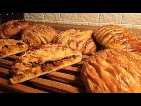 pain-farci-au-viande-hachée-cuisine-maliya-خبز-محشي-بعجينة-قطنية-بامتياز