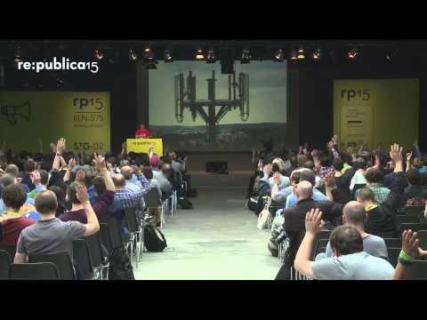 re:publica 2015 - Andre Meister: Lügen für die Vorratsdatenspeicherung on YouTube