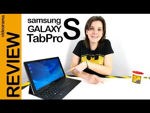 Samsung Galaxy TabPro S review en español | 4K UHD