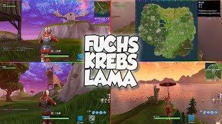FUCHS, KREBS & LAMA Locations in Fortnite Battle Royale | Battle Pass Season 3 Challenge
