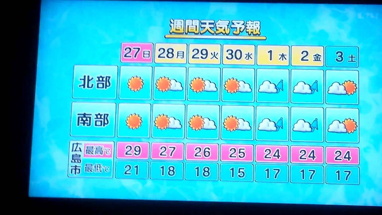 広島 の 天気