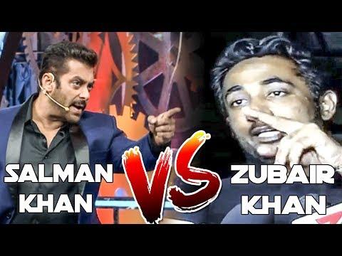 SALMAN KHAN VS ZUBAIR HATELA (Bigg Boss 11 Controversy)