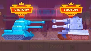 Tank Stars Tiger tank vs T - 34 Tank - Tank for kids - Games Bii