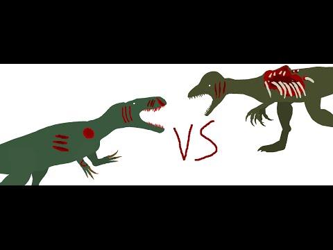 Battle carnage: torvosaurus vs turok dilophosaurus