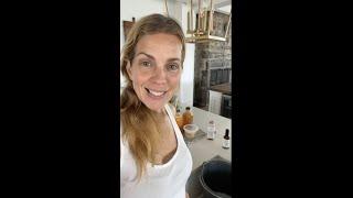Aussi simple que ça, j'ajoute la formule purifiante à mon eau savonneuse et hop au grenier!