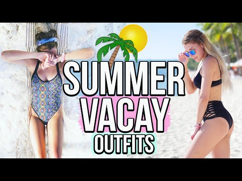 Summer Vacation Outfits   A Week In My Life (Philippines)