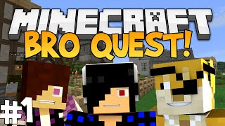 AND SO IT BEGINS [Minecraft: Modded Bro Quest!] (#1)