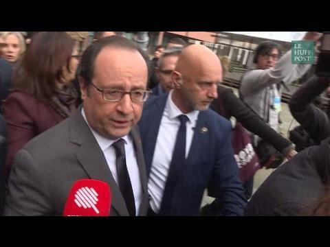 """Affaire Théo : Hollande à Aubervilliers pour """"rappeler des principes de vie"""""""
