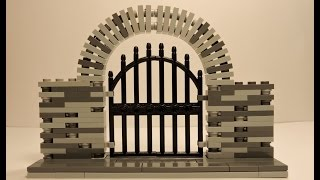 Lego Medieval Gate - Tutorial