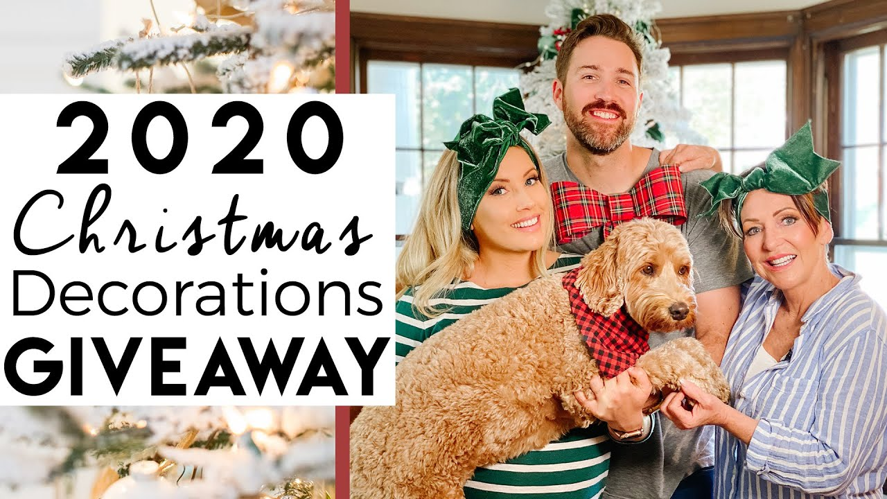 Huge  Christmas Decorations Giveaway
