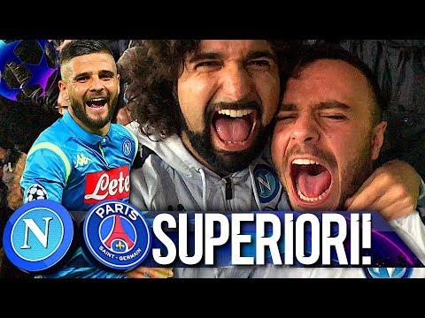 SUPERIORI!!! NAPOLI 1-1 PSG | LIVE REACTION SAN PAOLO NAPOLETANI 4K
