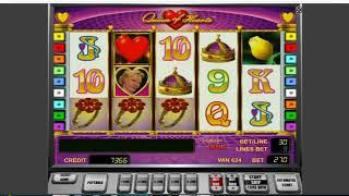 Как заработать в казино Вулкан. Как обмануть слот Queen Of Hearts