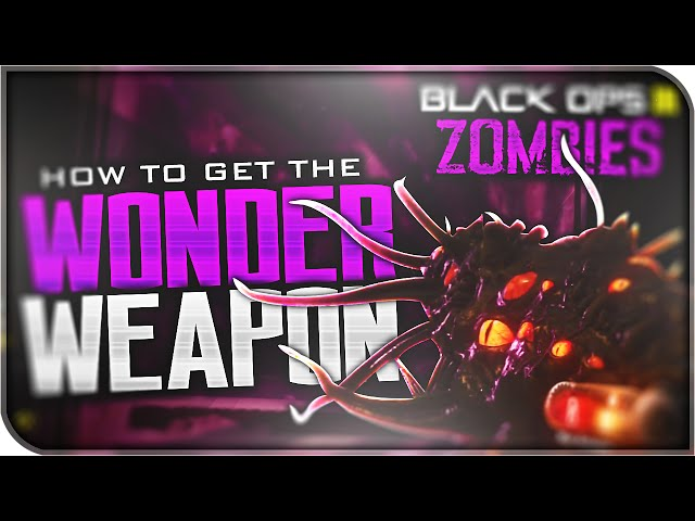HOW TO GET THE WONDER WEAPON! BUILD Apothican Servant Tutorial! (Black Ops 3: Zombies)
