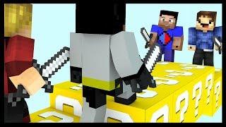 Minecraft LUCKY BLOCK Bridges with Vikkstar, Woofless, xRpM & CraftBattleDuty
