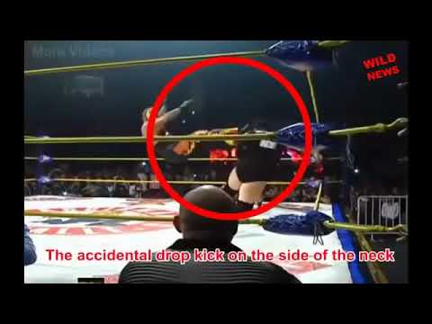 Official footage Perro Aguayo Jr vs. Rey Mysterio last match