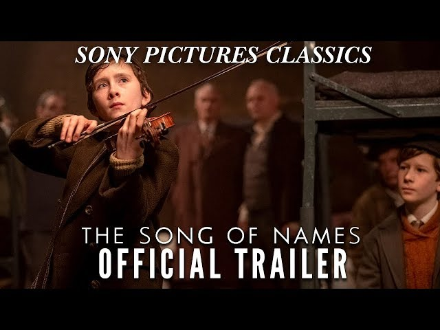 THE SONG OF NAMES   Official Trailer (2019)