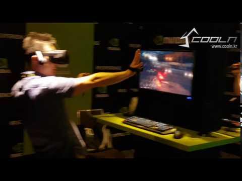 [쿨엔조이 COMPUTEX 2016] NVIDIA VR 체험