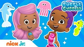 Ocean Animals Music Video w/ the Bubble Guppies! 🐠 | Nick Jr.