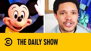 Disney World Bans Eating And Drinking While Walking I The Daily Show With Trevor Noah