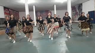 Digantung Waktu/ Line Dance Beginner/ Gdc Mrauke
