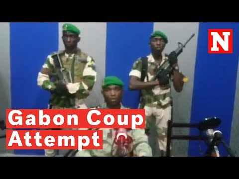 Gabonese Soldiers Announce Coup On State Television